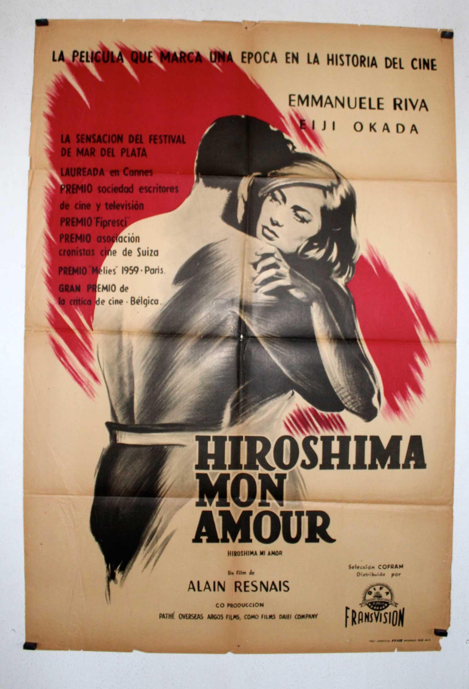 Movie Hiroshima Mon Amour Hiroshima Mon Amour