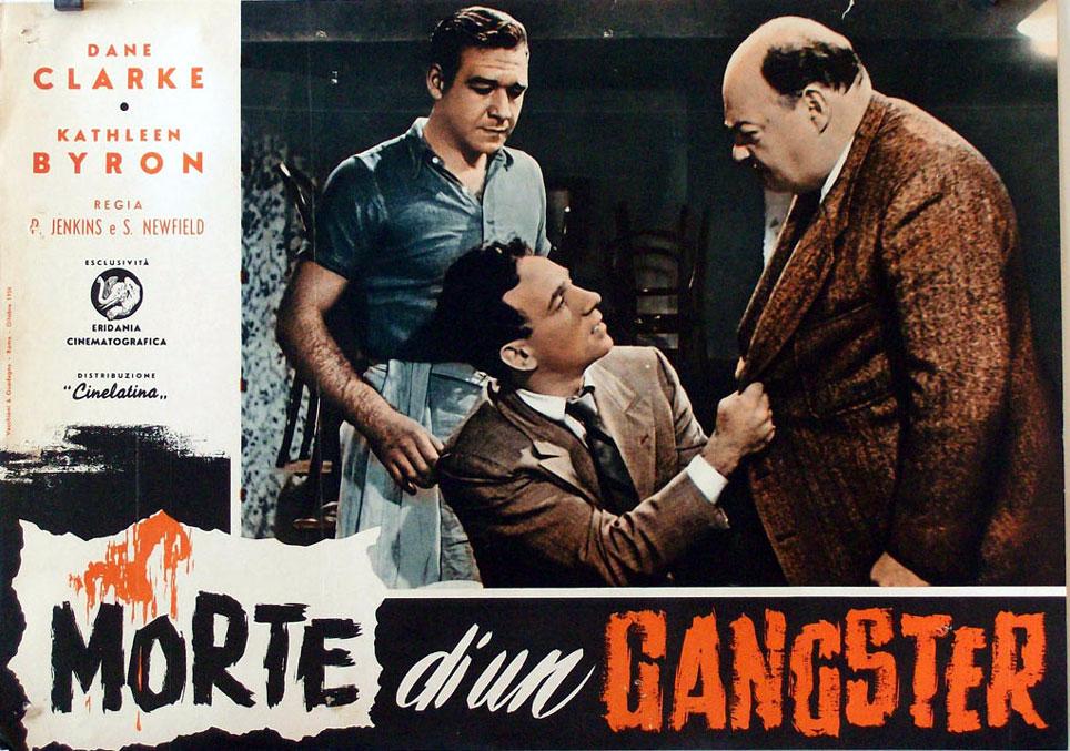 Morte di un gangster movie poster the gambler and the - Successione morte di un genitore ...