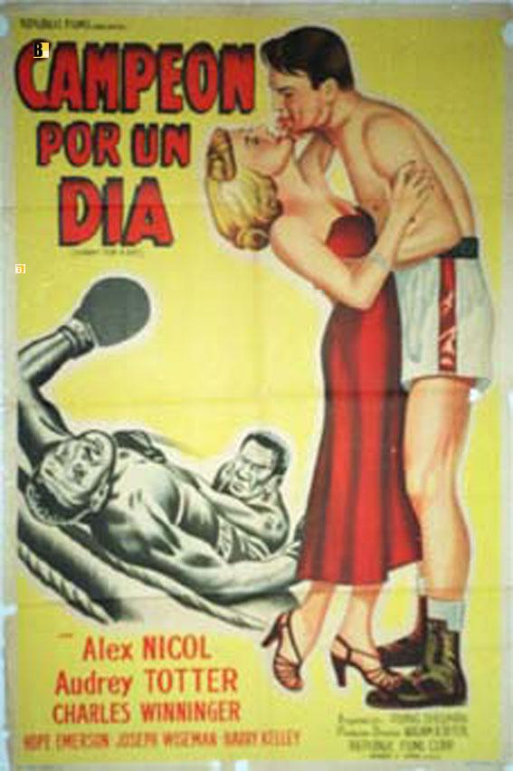 Campeon por un dia movie poster champ for a day for Alquiler piscina por un dia