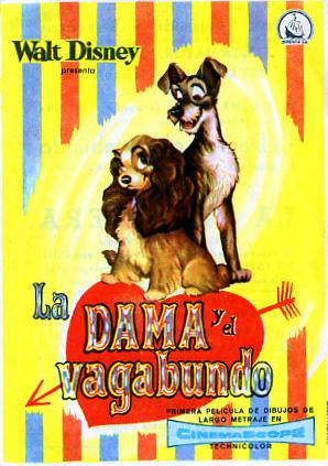 La Dama Y El Vagabundo Movie Poster Lady And The Tramp Movie Poster