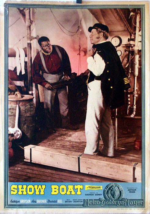 a review of show boat a 1936 film by james whale 1936 'show boat': a multiracial, musical melodrama, now  review (soundbite of show boat)  of james whale's.