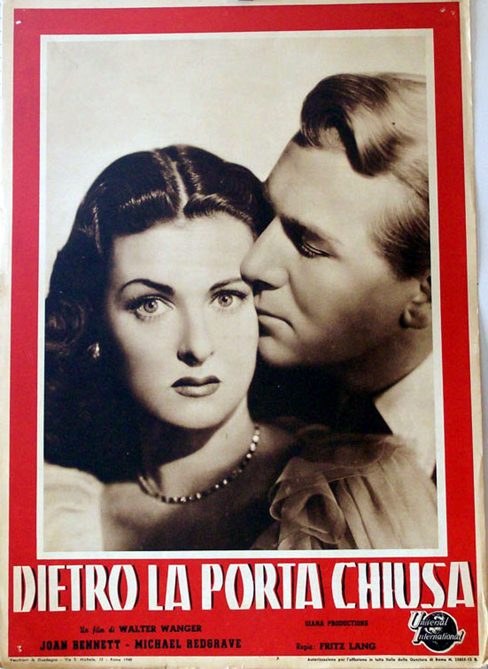 Dietro la porta chiusa movie poster secret beyond the - Dietro la porta chiusa film completo ...