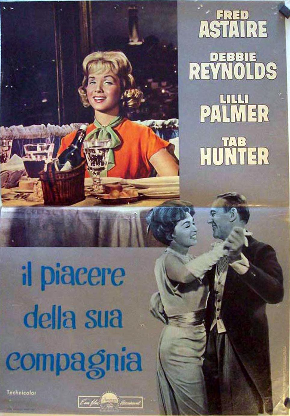Il Piacere Della Sua Compagnia Movie Poster The Pleasure Of His Company Movie Poster