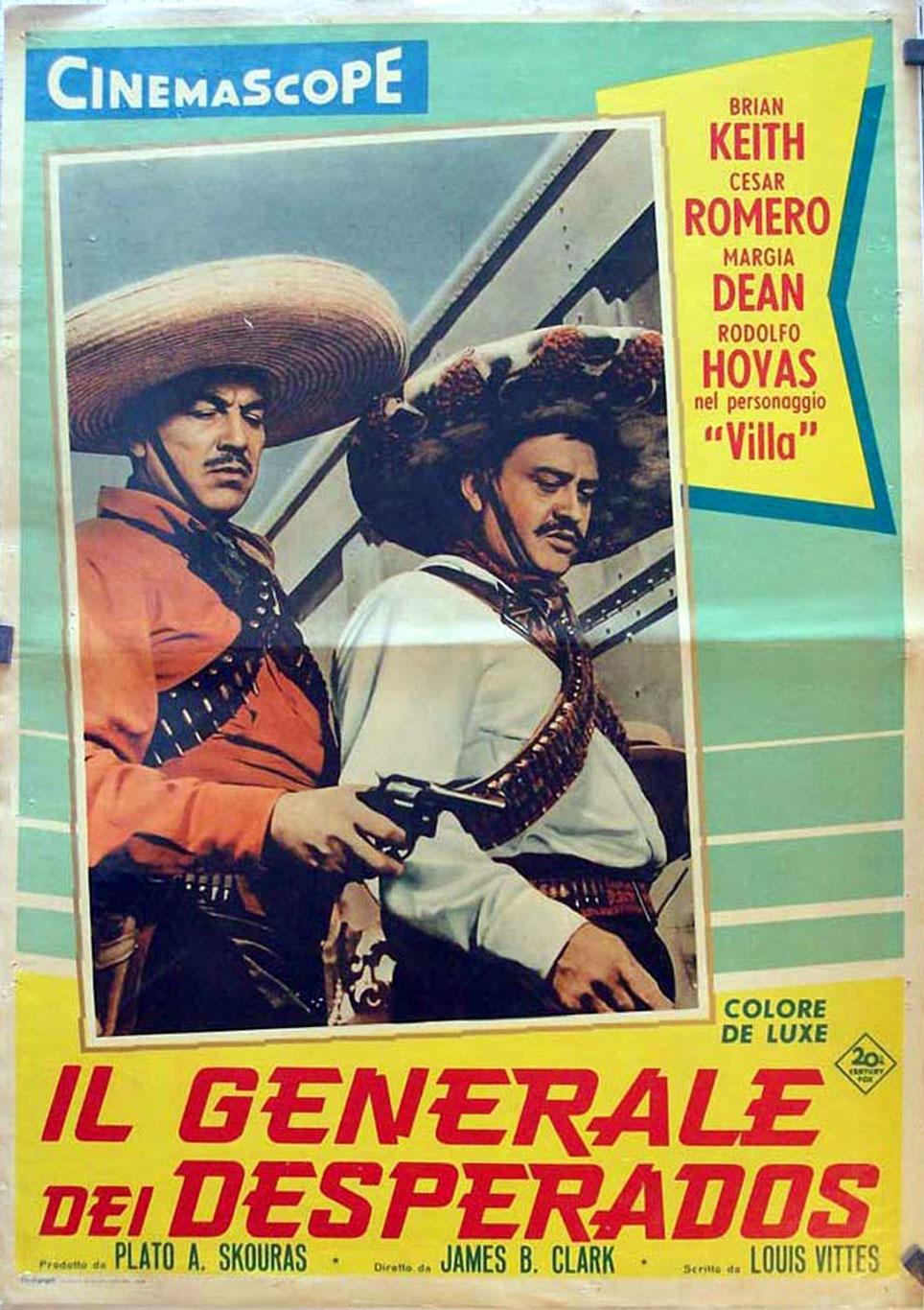 Il Generale Dei Desperados Movie Poster Villa Movie Poster