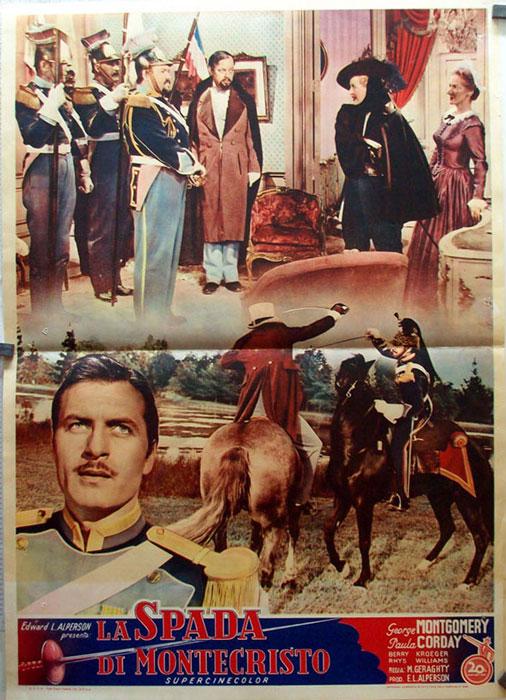 quotla spada di montecristoquot movie poster quotmask of the