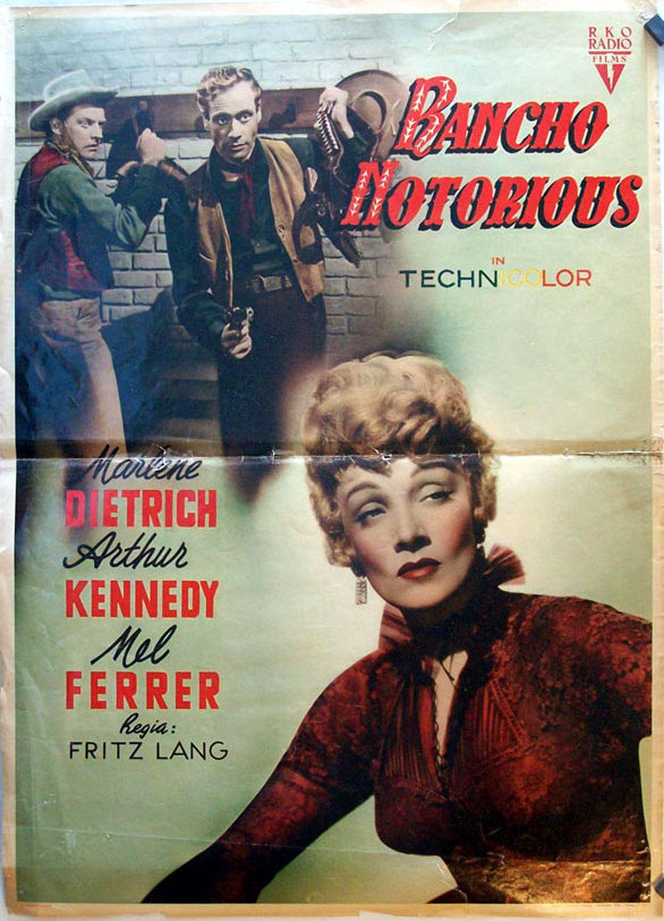 Risultati immagini per rancho notorius film 1952