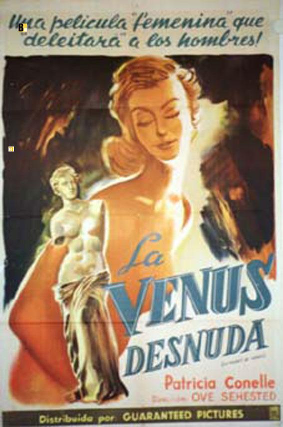 Venus Desnuda La Movie Poster The Naked Venus Movie Poster