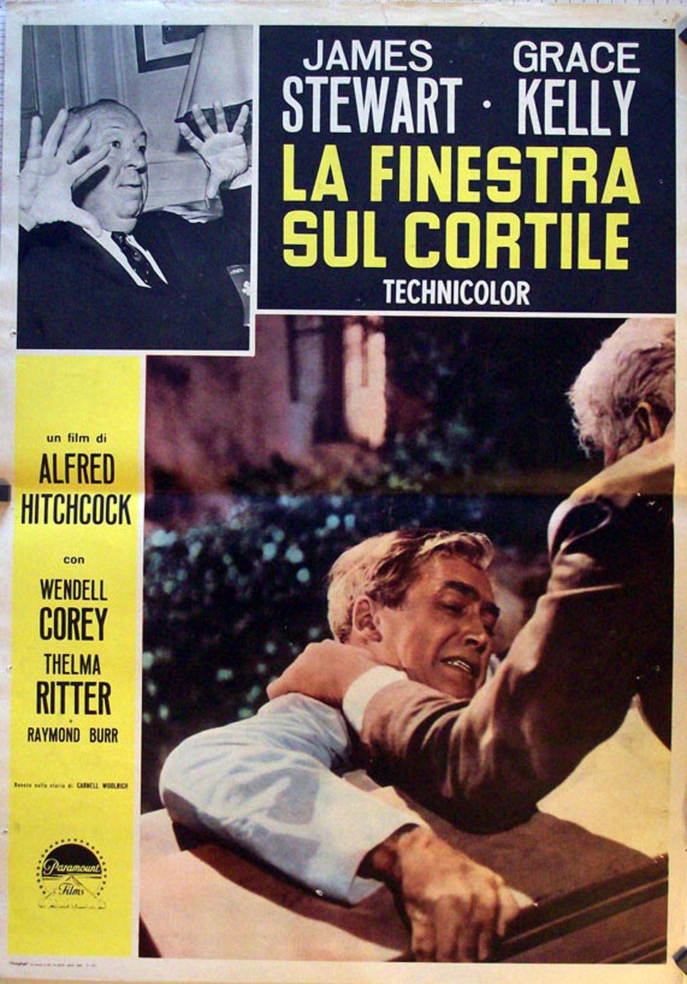 La ventana indiscreta movie poster rear window movie poster - Alfred hitchcock la finestra sul cortile ...