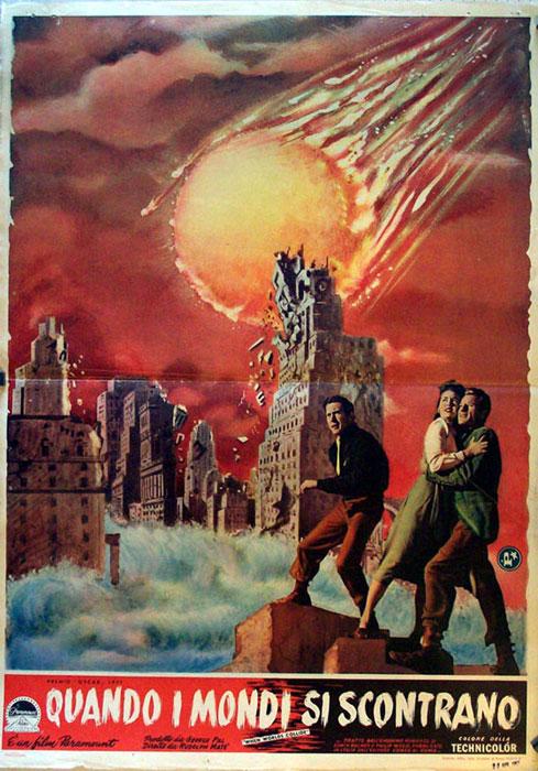 Quando i mondi si scontrano movie poster when worlds for Quando si piantano i fagioli