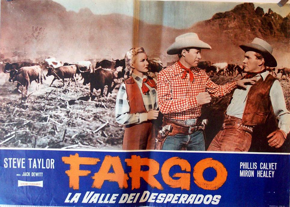 Fargo La Valle Dei Desperados Movie Poster Fargo Movie Poster