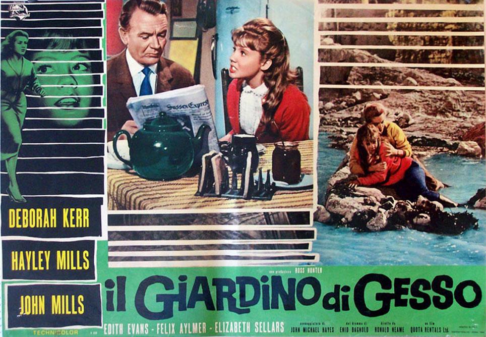 Il giardino di gesso movie poster the chalk garden movie poster - Il giardino di gesso ...