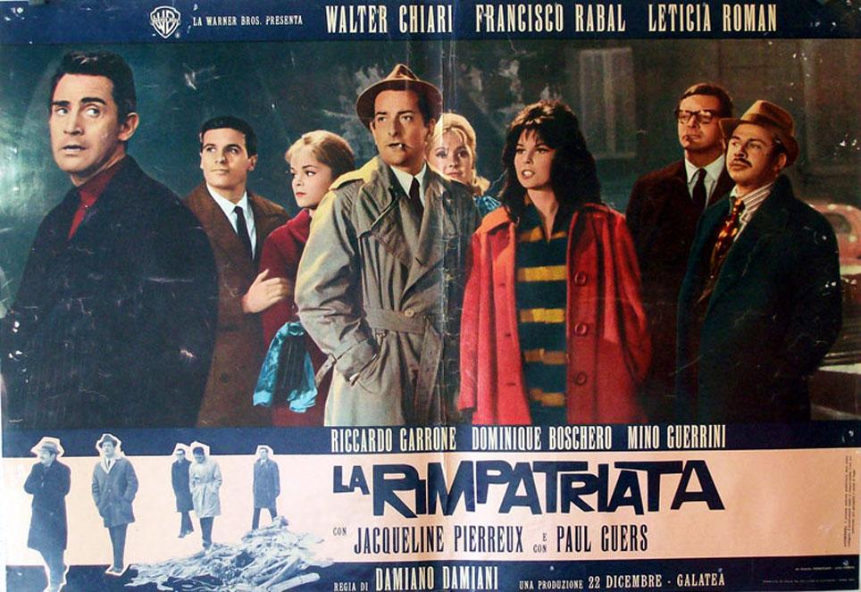 """""""LA RIMPATRIATA"""" MOVIE POSTER - """"LA RIMPATRIATA"""" MOVIE POSTER"""