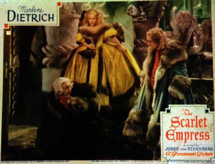 The Scarlett Empress Marlene Dietrich movie poster