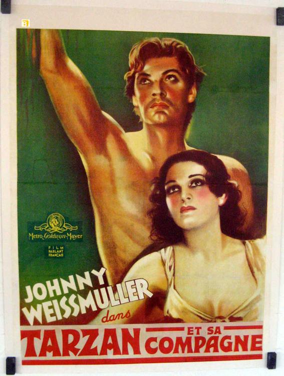 Tarzan et sa compagne movie poster tarzan and his mate movie poster - Sophie jovillard et sa compagne ...