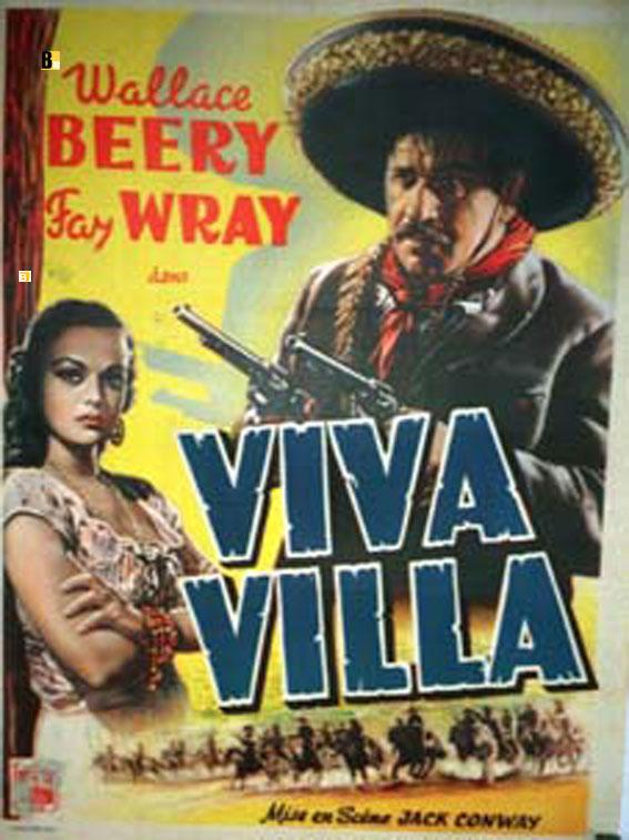 u0026quot viva villa u0026quot  movie poster