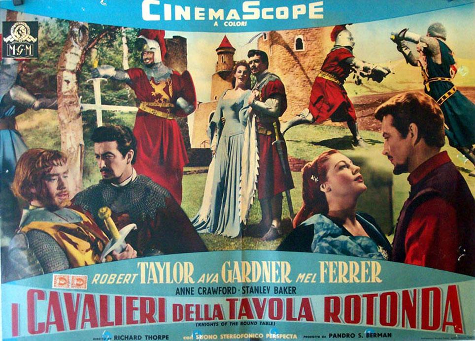 Los caballeros del rey arturo movie poster knights of - Cavalieri della tavola rotonda ...