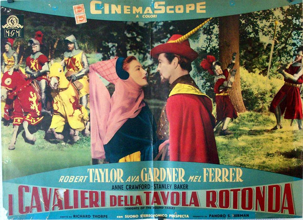 I cavalieri della tavola rotonda movie poster knights - Cavalieri della tavola rotonda ...
