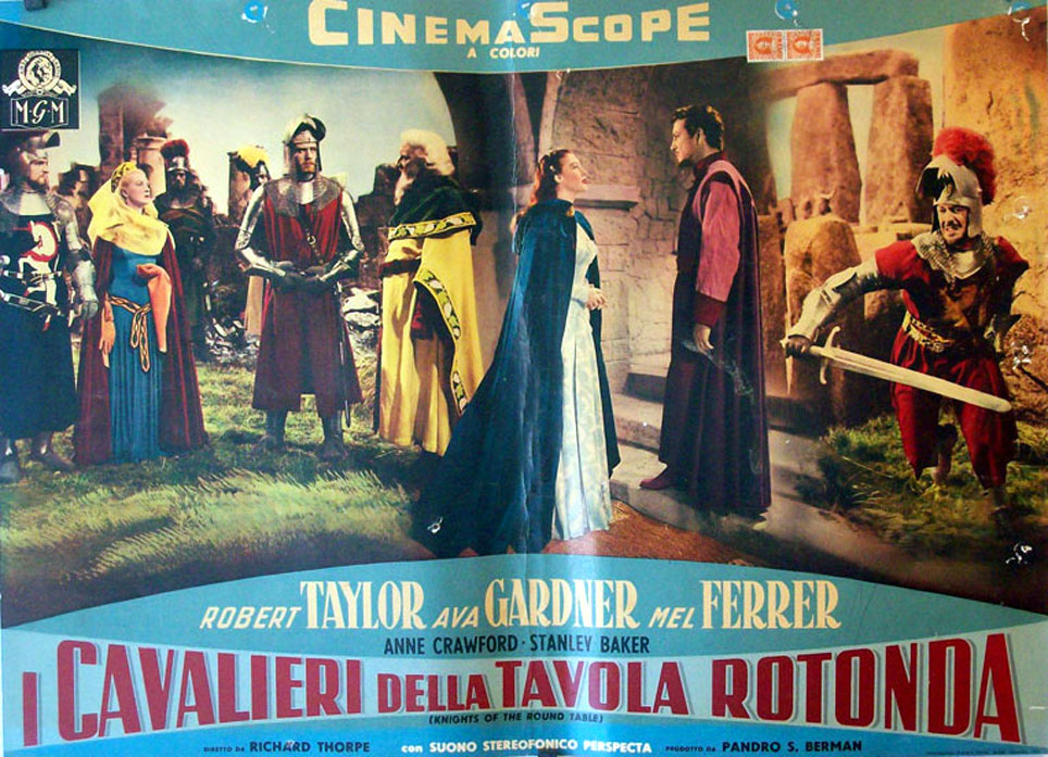 I cavalieri della tavola rotonda movie poster knights - Numero cavalieri tavola rotonda ...
