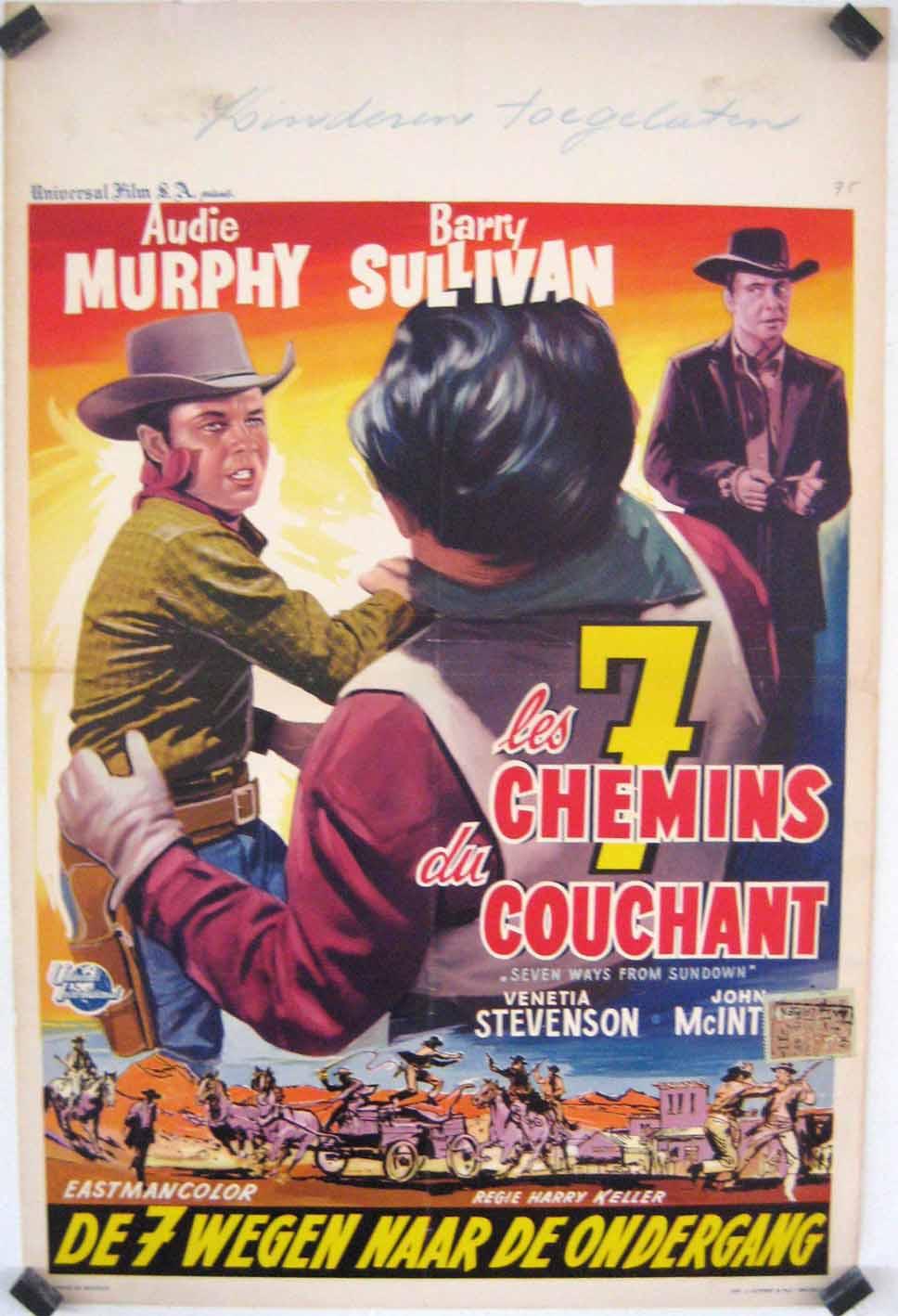 quotles 7 chemins du couchantquot movie poster quotseven ways