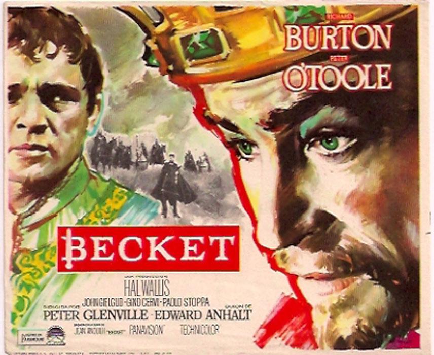 Risultati immagini per becket e il suo re film 1964