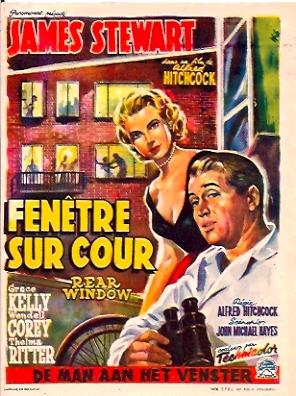 Fenetre sur cour movie poster rear window movie poster for Fenetre sur cour film