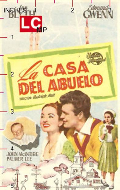La casa del abuelo movie poster sally and saint anne - La casa vieja del abuelo ...